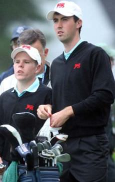 Niall Kearney during the 2009 Walker Cup