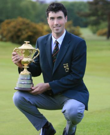 Niall Kearney with the Brabazon Trophy