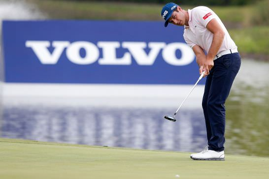 Julien Quesne leads the Volvo China Open at halfway. Picture © Getty Images