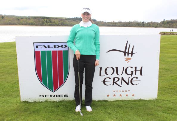 Forrest Little's Julie McCarthy leads the Faldo Ireland Girls Championship with one round to play.