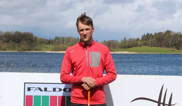 Darragh Flynn had six birdies in an opening 72 in the Faldo Ireland Championship at Lough Erne