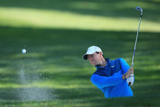 Rory McIlroy in action at Harding Park. Picture © Getty Images