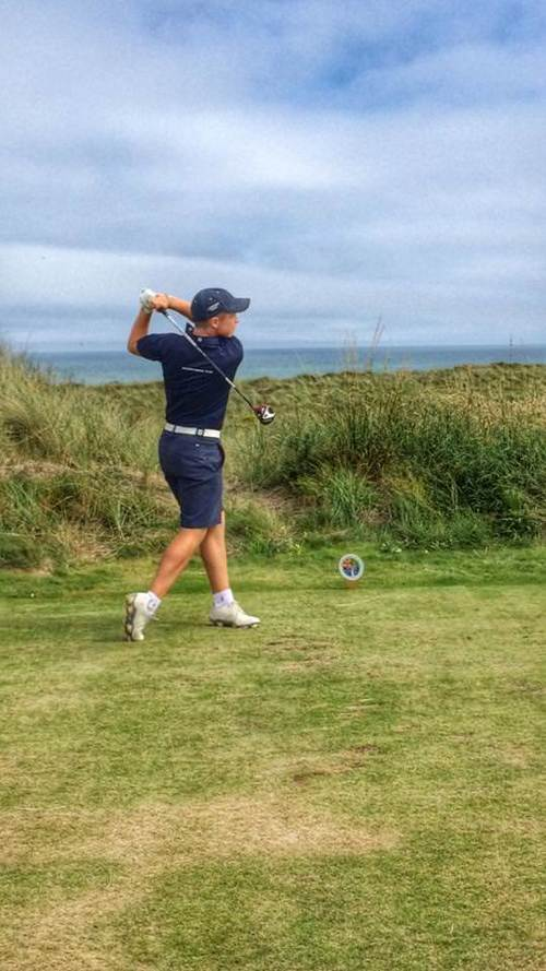Conor Purcell during last year's Boys Interpros