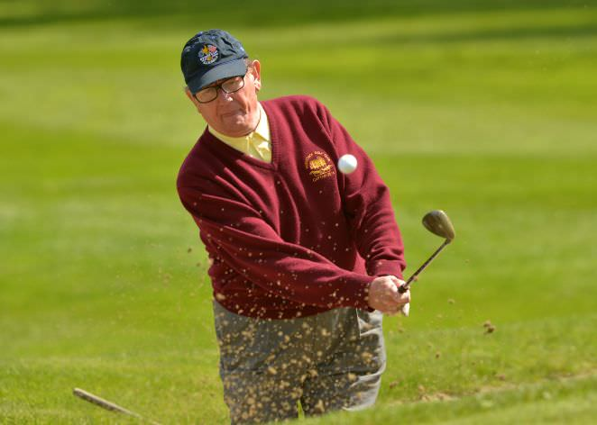 Pat McGilloway (Captain, Hermitage Golf Club) competing at Mount Wolseley. Picture by Pat Cashman
