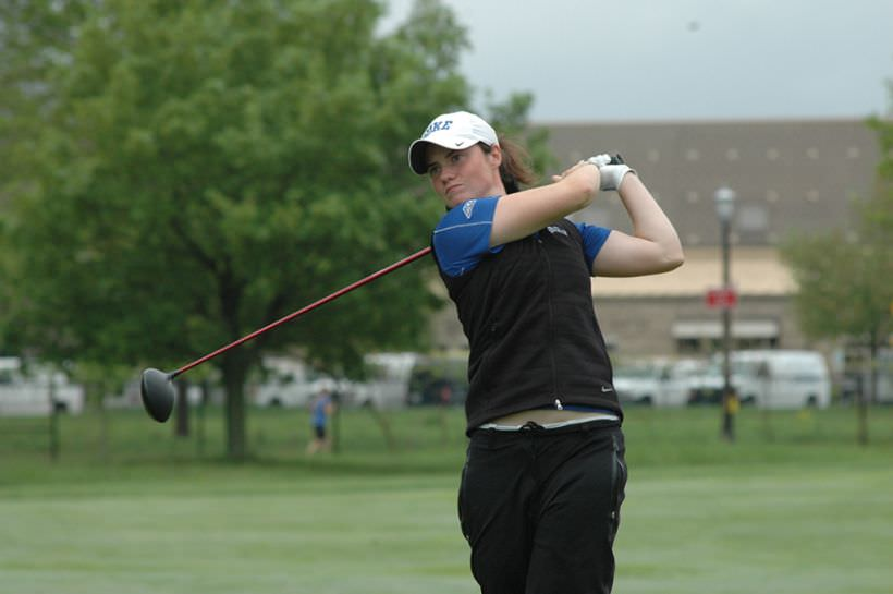World Amateur No 1 Leona Maguire. Photo By: Lindy Brown, Duke Sports Information