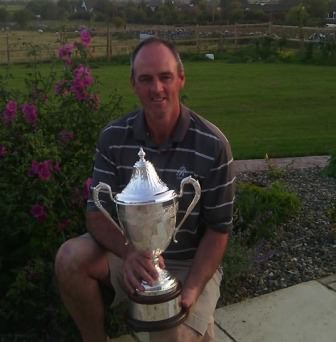 Eddie McCormack with the 2014 Ulster Mid Amateur Championship