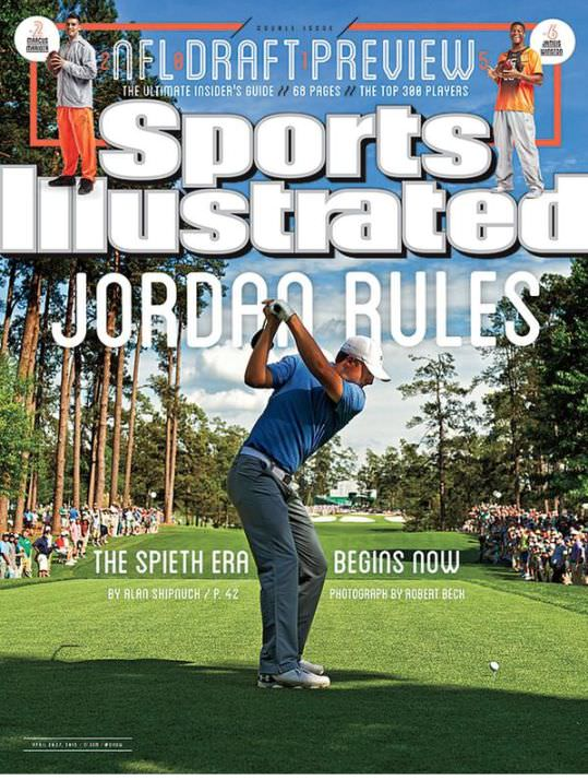The cover of Sports Illustrated after the Masters resonated a little as it was similar to the cover they ran after McIlroy's 2011 US Open victory