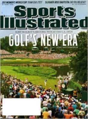 Rory McIlroy on the cover of SI in 2011