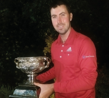 Niall Kearney, the 2014 Irish Professional champion
