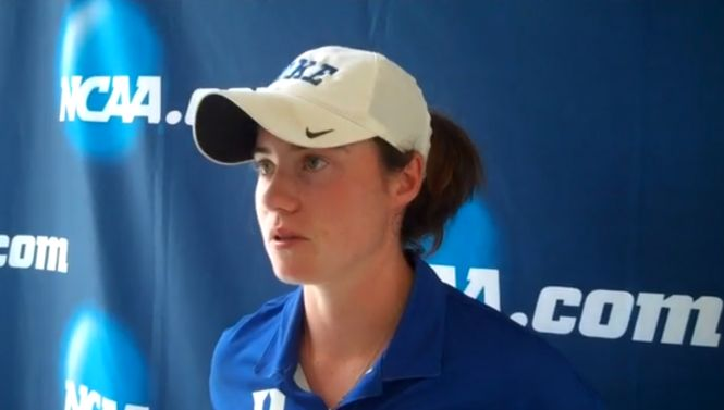 Leona Maguire after her round