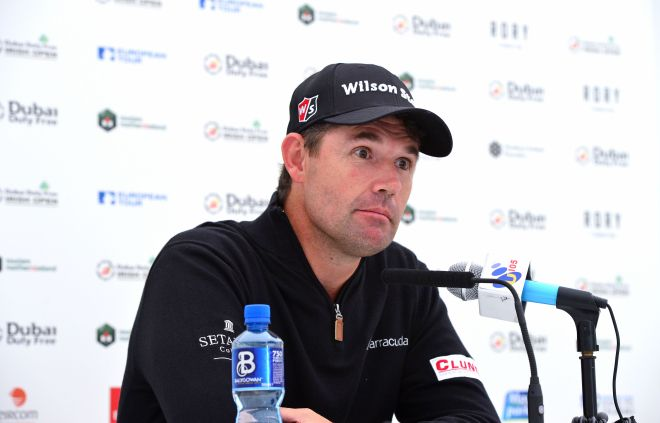 Up Down. Pádraig Harrington is a fan of Royal County Down. Picture © Getty Images