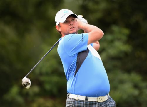 Scotland's Jamie McLeary co leads in Belgium. Gareth Shaw is one back.