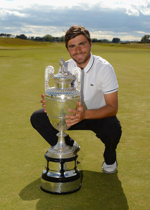 Romain Langasque of France, the 2015 Amateur champion. Credit: The R&A.
