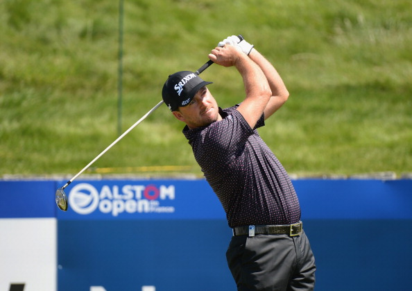 Graeme McDowell practices for the Alstom Open de France. Picture: Getty Images