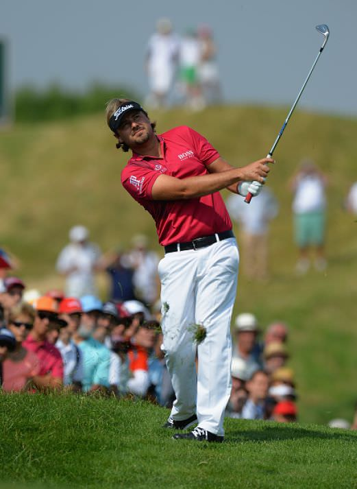 Victor Dubuisson. Picture © Getty Images