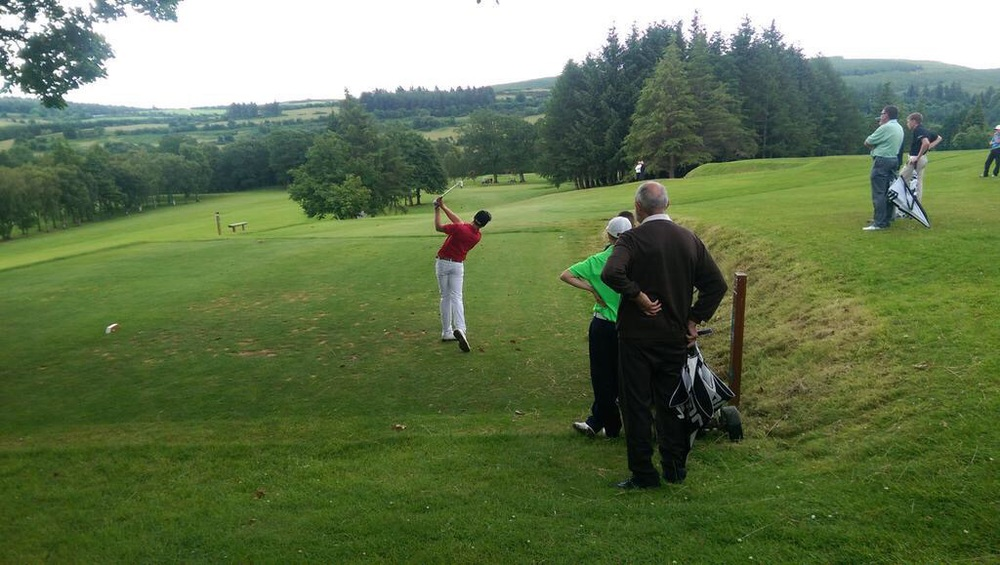 Eduard Rousaud. Picture courtesy Clonmel Golf Club