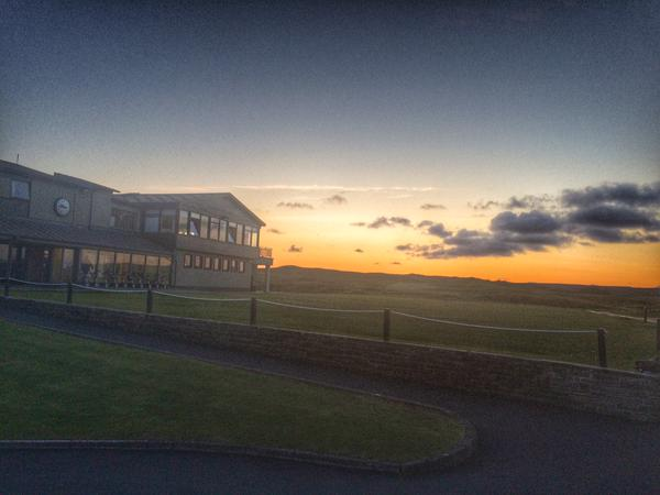 Sunset at Lahinch