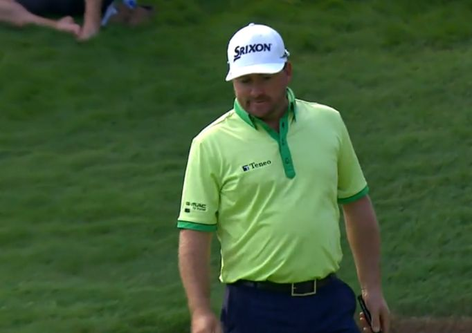 A resigned Graeme McDowell at the RBC Canadian Open.