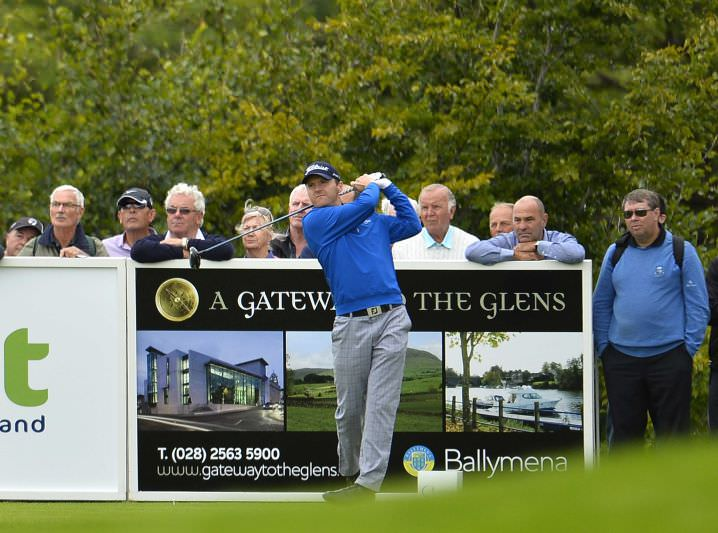 Michael Hoey is Tournament Ambassador for this week's Northern Ireland Open and Galgorm Castle's Touring Professional