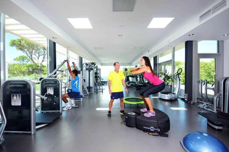 The Q gym at Quinta do Lago