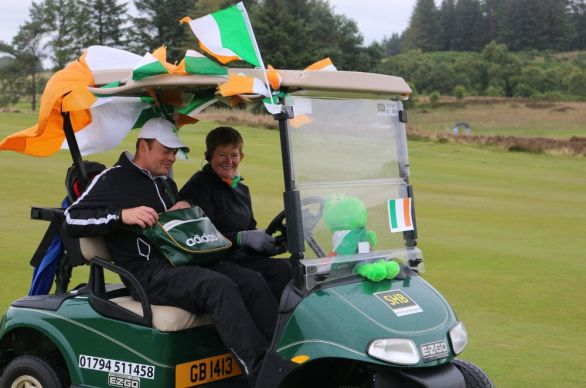 The Irish buggy today. Picture/LGU