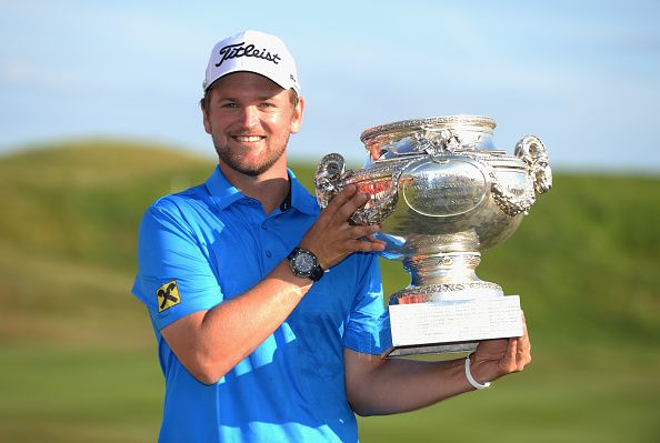 Bernd Wiesberger with the Open de France trophy. Picture: Getty Images