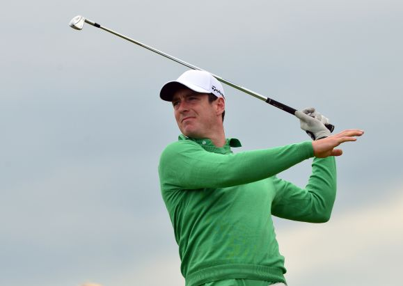 Colin Fairweather (Ireland) driving at the 12th tee on the first day of the 2015 Home International Matches at Royal Portrush Golf Club today (12/08/2015). Picture by  Pat Cashman