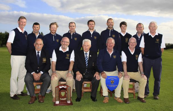 AIG Barton Shield,Munster champions 2015 - Muskerry. Picture: Golffile