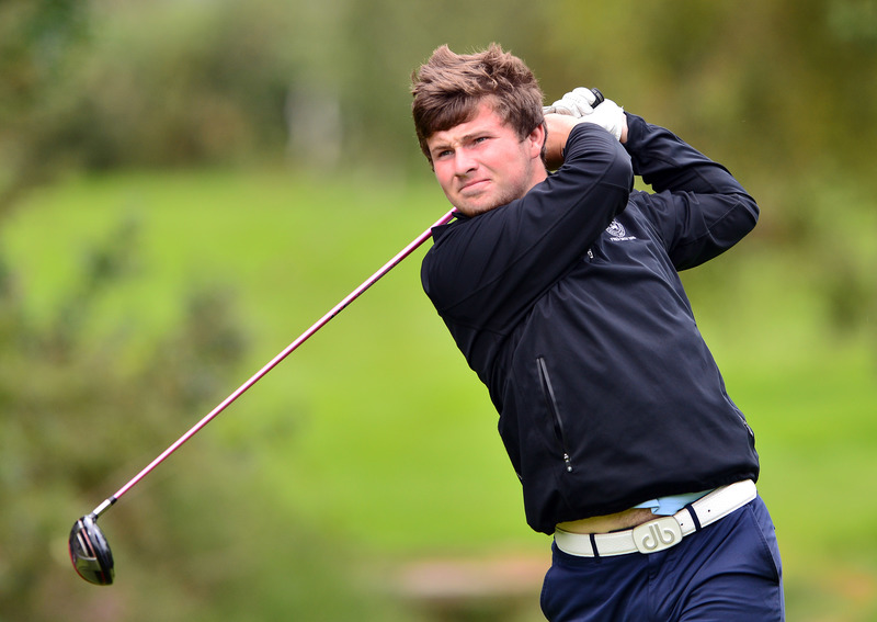 Kevin Power (Kilkenny) driving at the 11th tee during the second day of strokeplay at the 2015 Irish Amateur Close Championship at Tramore Golf Club (19/05/2015) Picture by Pat Cashman