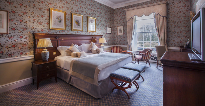 One of the deluxe rooms in the new Liffey Wing