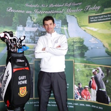Gary Howie, head professional at Adare Manor