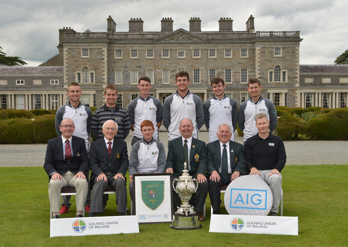 AIG Senior Cup winners Maynooth University. Picture by  Pat Cashman