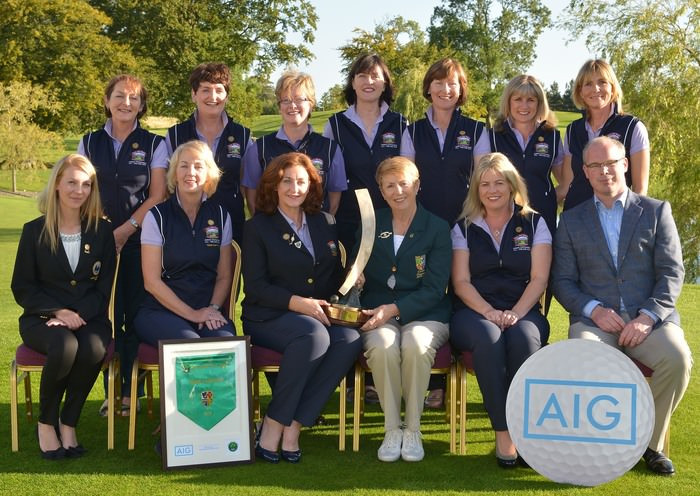 Bearna, AIG Junior Foursomes champions 2015