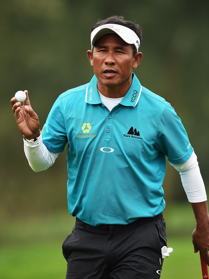 Thailand's Thongchai Jaidee. Picture:  Getty Images