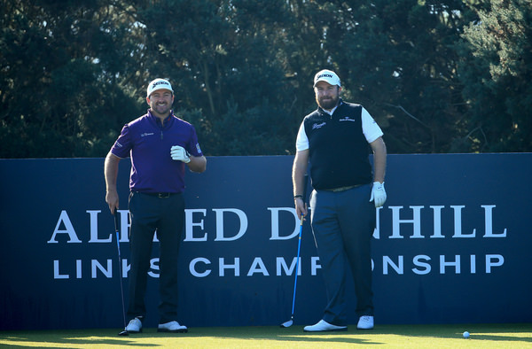 Graeme McDowell and Shane Lowry. Picture: Getty Images