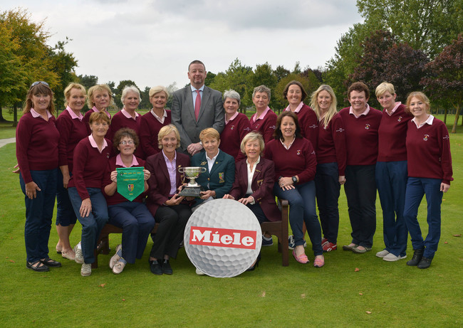 Ballybunion — Miele All-Ireland Fourball winners 2015. Picture by  Pat Cashman
