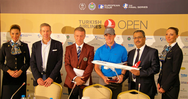 Turkish Airlines on board with European Tour until 2018 with the news that the airline has extended its sponsorship of the Turkish Airlines Open for the next three years.