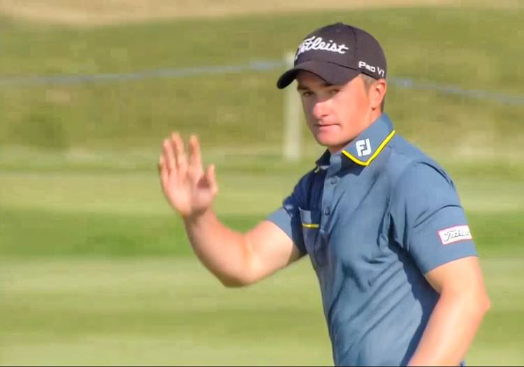 Paul Dunne at the Alfred Dunhill Links