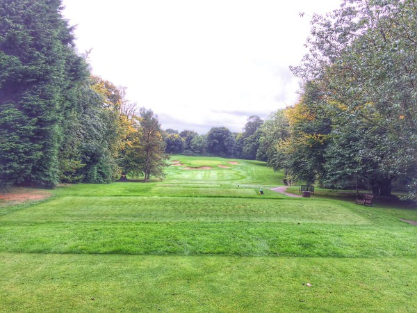 The par-three fourth is one of the great holes at Belvoir Park
