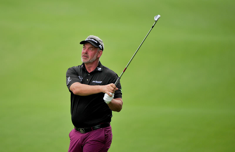 Ho Tram, Vietnam 4 December 2015 - Darren Clarke of Northern Ireland in action during day two of the Ho Tram Open. Photo by Khalid Redza/ Asiantour