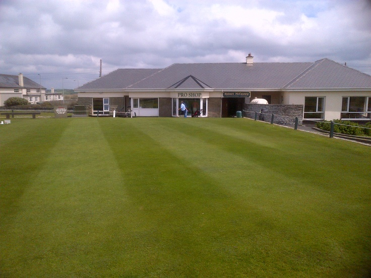 The former professional's shop at Lahinch.