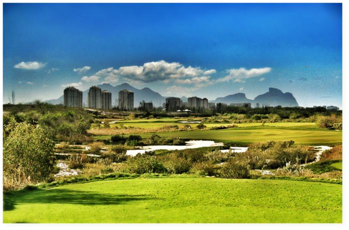 A 3D impression of the Rio golf course