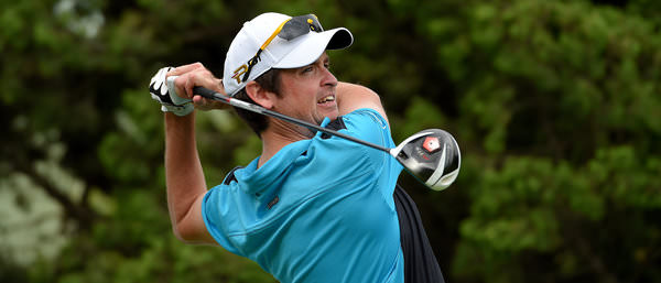 Niall Turner pictured in Taiwan late last year. Picture by Paul Lakatos/Asian Tour.