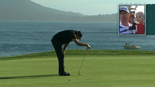 Phil Mickelson laments his 72nd hole lip out at Pebble Beach