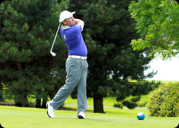 European Tour professional Damien McGrane