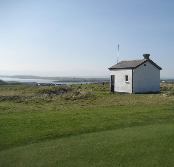 A view from the back of the new third green at County Sligo Golf Club, Rosses Point
