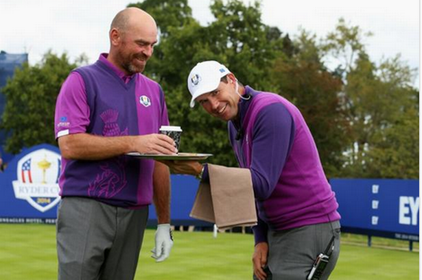 Padraig Harrington jokes about his vice-captaincy role at Gleneagles