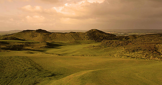 The first at Portstewart — Tubber Patrick — is regarded by many as the finest opening hole in links golf.