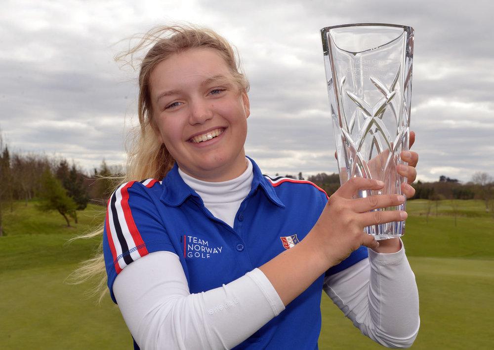 2016 Irish Under18 Girl's Open Strokeplay at Roganstown Golf Clu