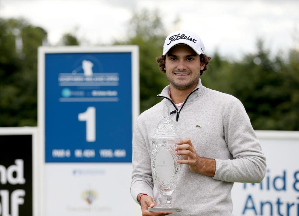France's Clément Sordet, who won the 2015 NI Open at Galgorm Castle. Picture: PressEye